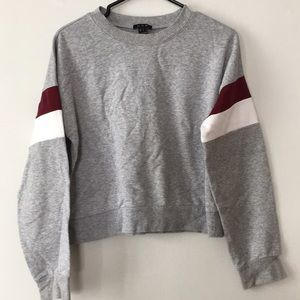2/$20 Urban Planet Grey Crewneck Sweater Size L